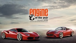 "Động cơ Ferrari V8 Turbo đạt giải ""International Engine of the Year 2016"""