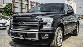 Ford F-150 Limited 2017 hộp số 10 cấp về Việt Nam