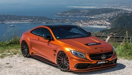 Mercedes-AMG S 63 Coupe ấn tượng với widebody Prior Design