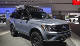 Soi SUV offroad cho gia đình Ford Expedition Baja-Forged Adventurer
