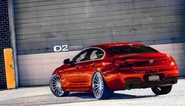 Mâm 22 D2Forged cho 650i Gran Coupe