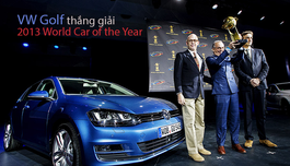 """VW Golf thắng giải """"2013 World Car of the Year"""""""