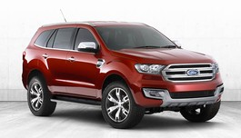 Ford Everest 2015 concept xuất hiện