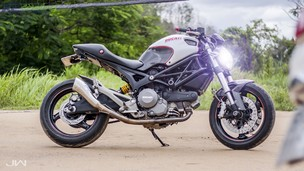 "Ngắm Ducati Monster 795 độ ""full carbon"" từ workshop Tí-Dylan"