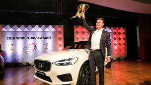 """Volvo XC60 chiến thắng giải """"2018 World Car of the Year"""""""