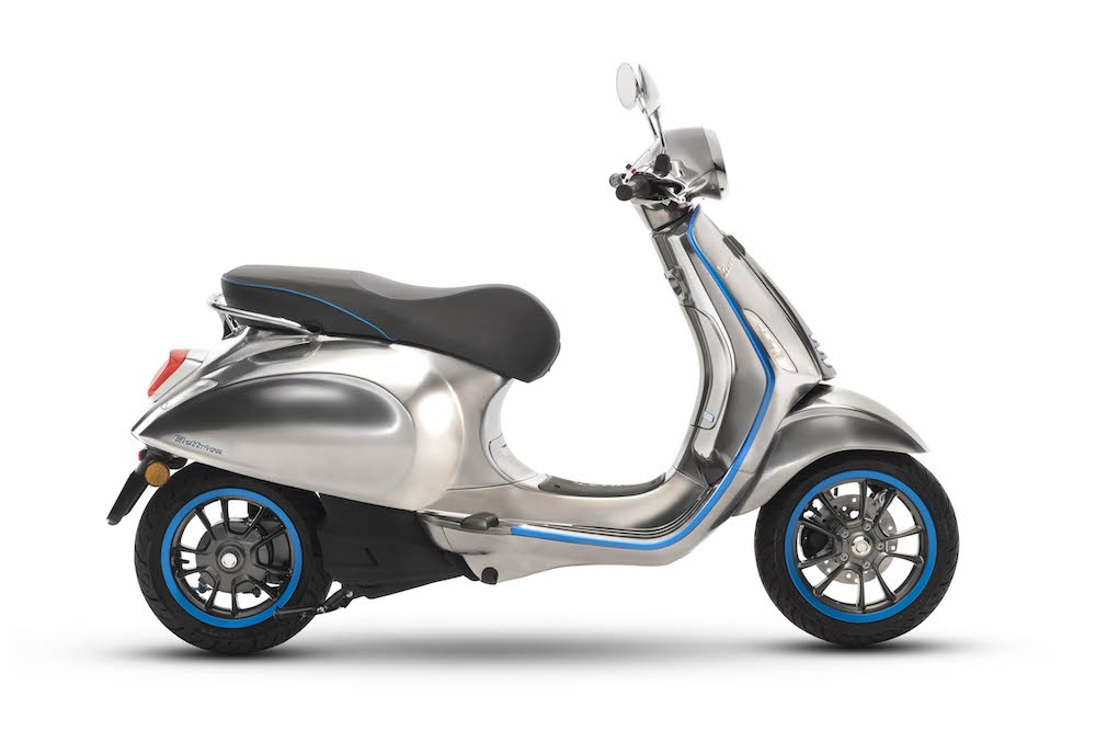 Vespa Elettrica chay dien co the dat hang duoc tu thang 102018