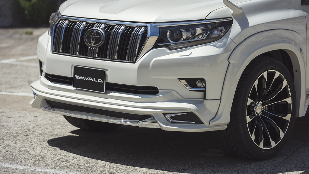 Toyota LC Prado 2018 dep hut hon voi ban do Wald Sports Line