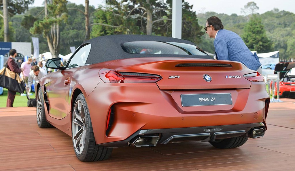 Ve dep thuc te BMW Z4 M40i First Edition 2019 vua ra lo