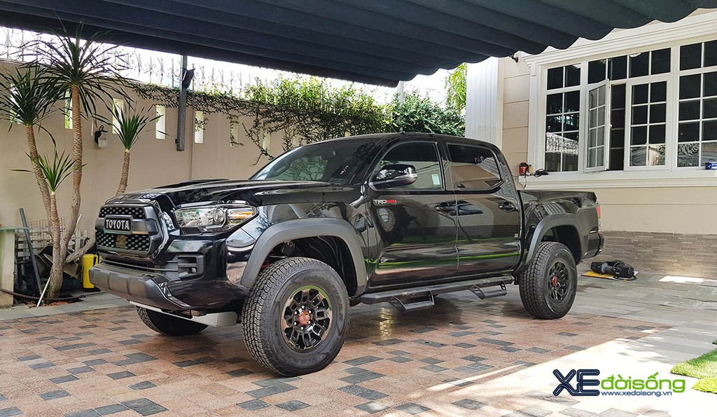 Can canh Toyota Tacoma TRD Pro 2019 dau tien ve Viet Nam