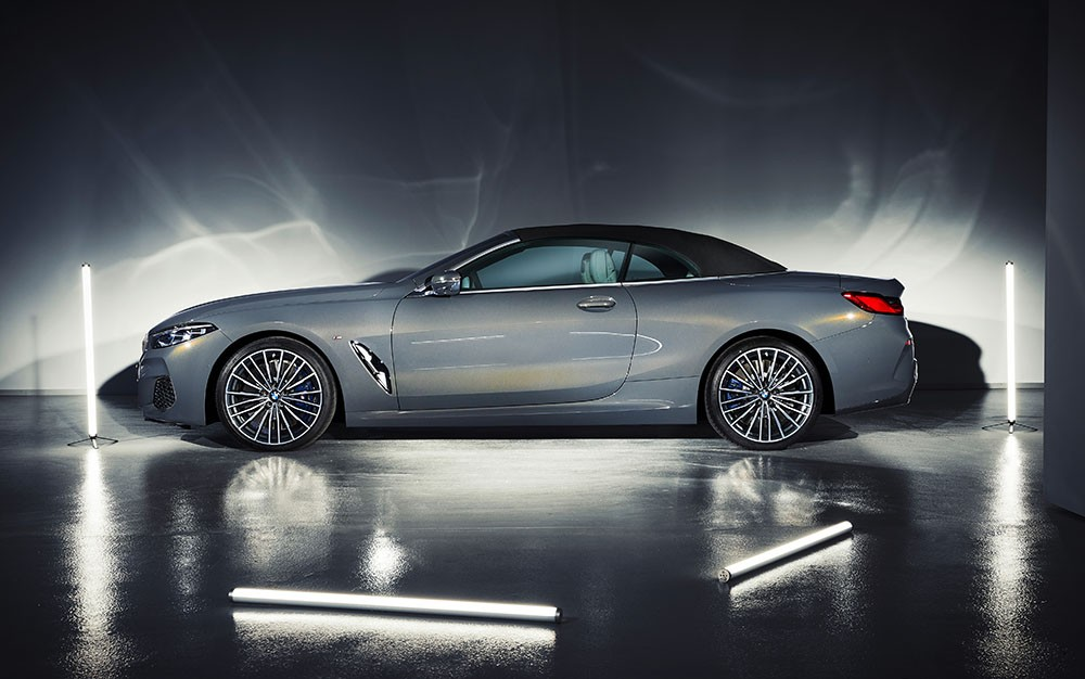 Ve dep BMW 8 Series Convertible 2019 moi qua anh den studio