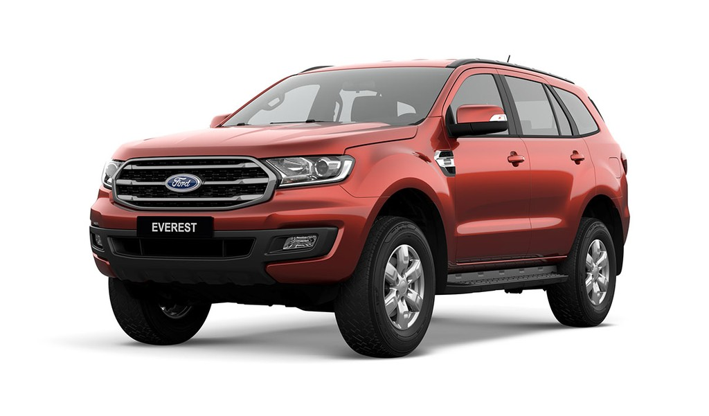Ford Everest 2.0L Turbo Ambiente 2018 moi chot gia tu 999 trieu dong