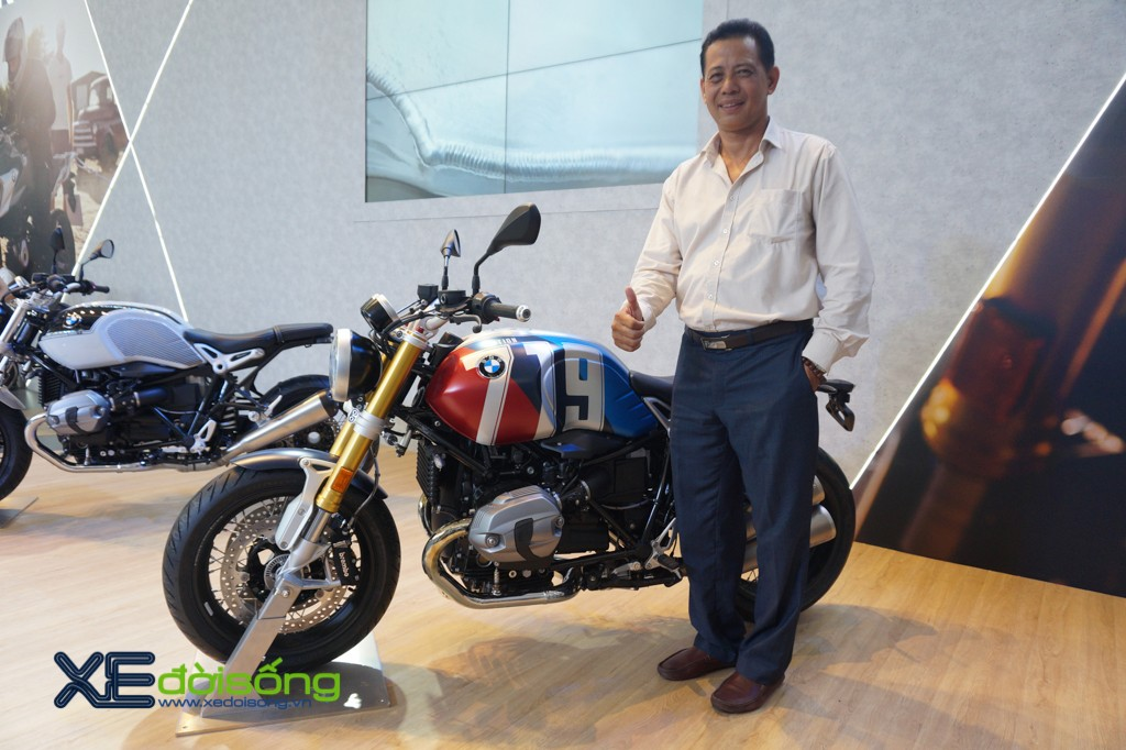"Can canh dan mo to BMW R nineT 719 ""doc nhat"" Viet Nam"