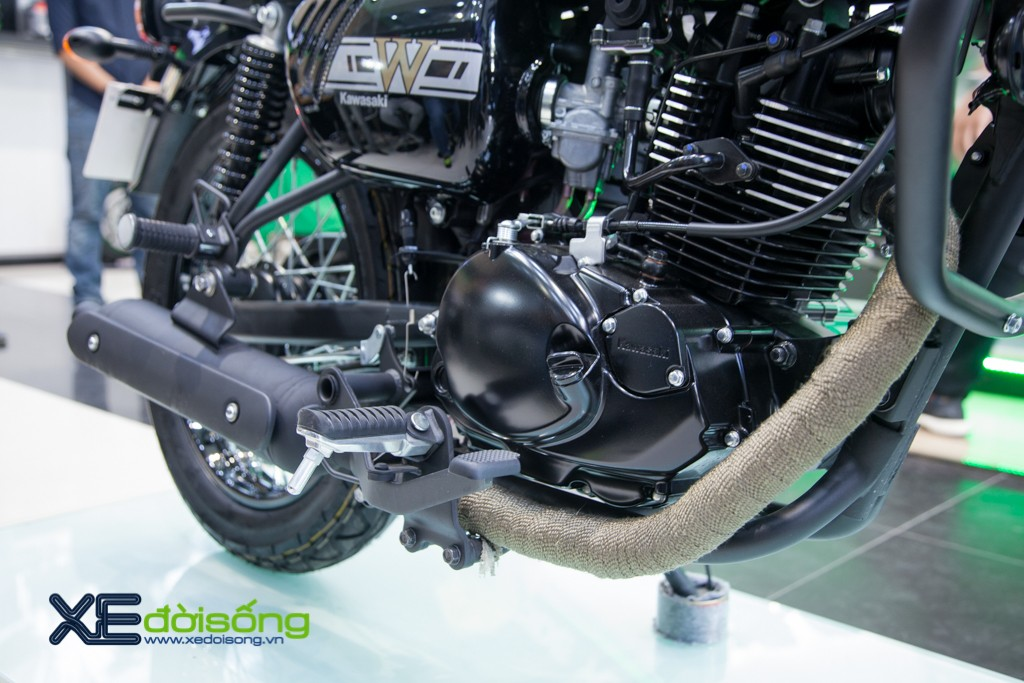 "Mo to hoai co Kawasaki W175 2019 ""Motorrock Limited Edition"""