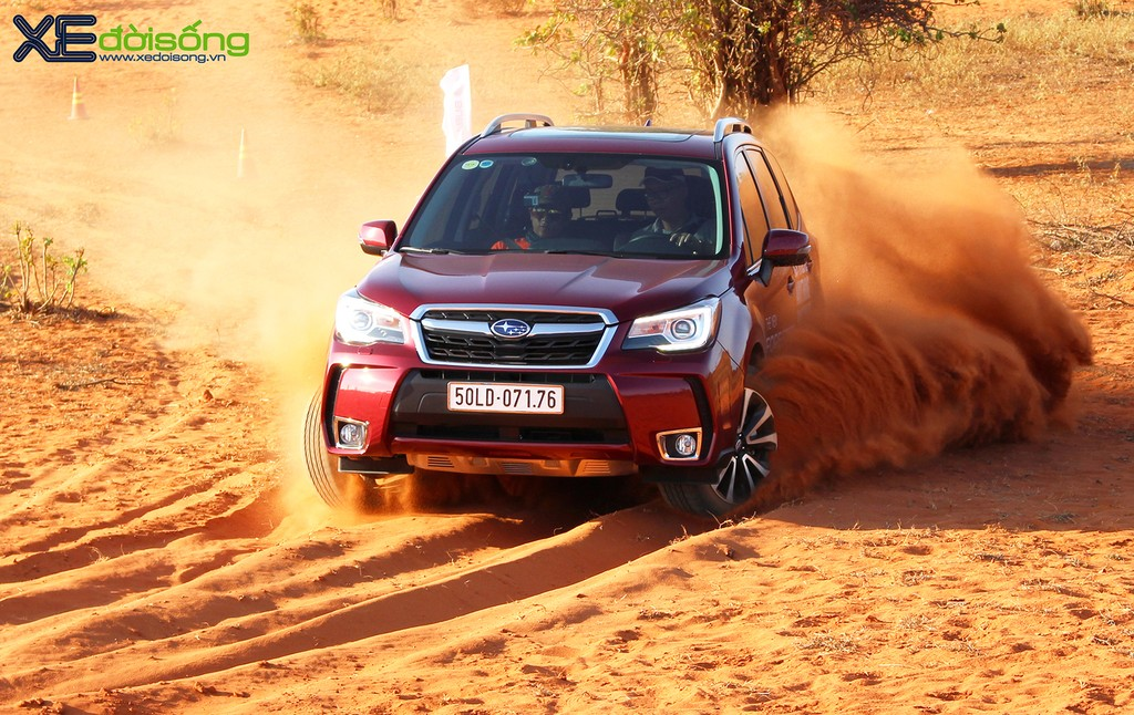 Đánh giá Subaru Forester 2016 - Kẻ phá đám xe sang ảnh 8