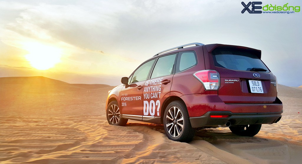 Đánh giá Subaru Forester 2016 - Kẻ phá đám xe sang ảnh 18