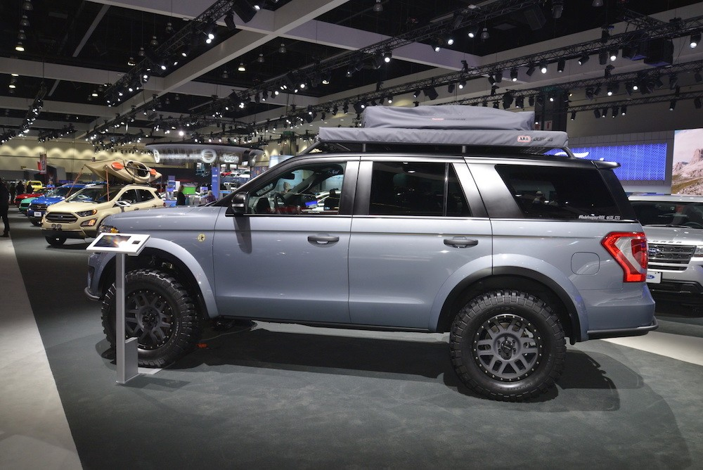 Soi SUV offroad cho gia đình Ford Expedition Baja-Forged Adventurer ảnh 3