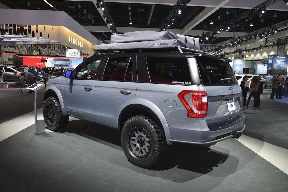 Soi SUV offroad cho gia đình Ford Expedition Baja-Forged Adventurer ảnh 4