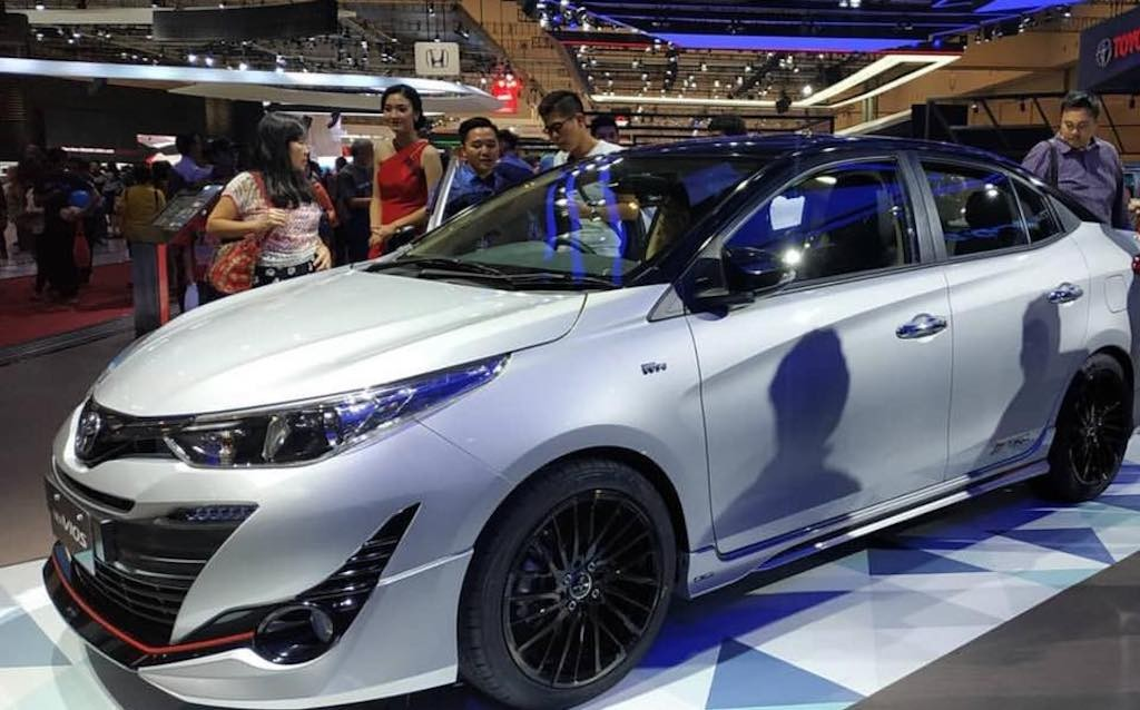 Chiem nguong cap doi Toyota Yaris - Vios 2018 do chinh hang TRD Sportivo