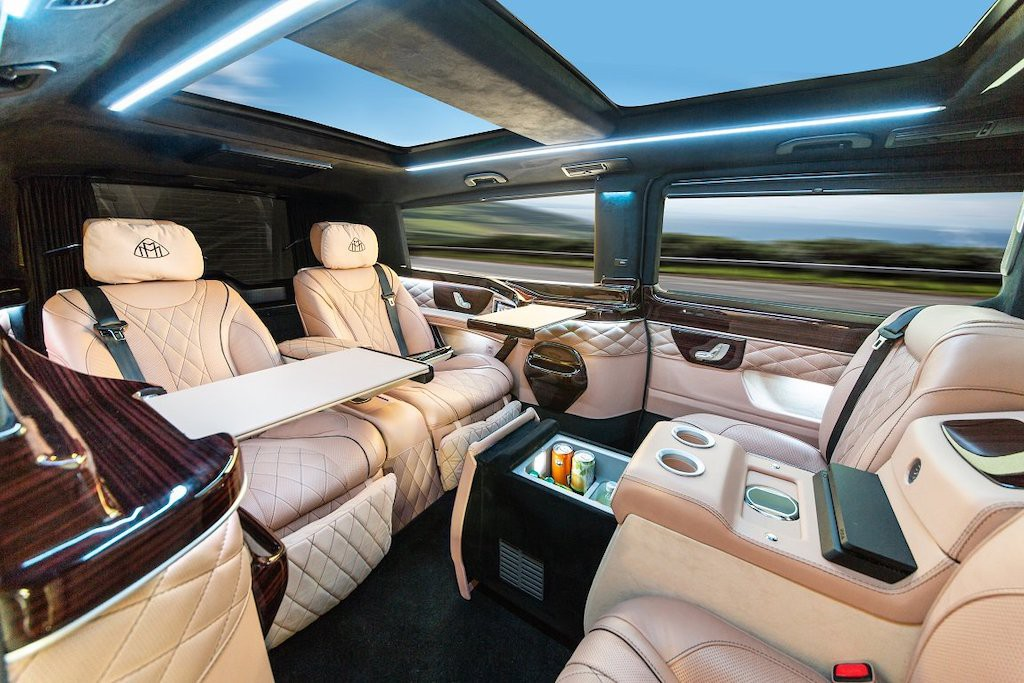 Can canh Mercedes V-Class do Maybach doc nhat The gioi