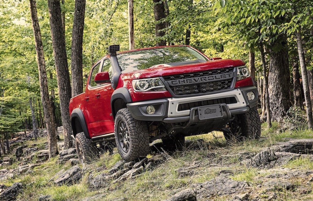"Can canh ban tai My Chevrolet Colorado ZR2 Bison cuc ""ngau"""