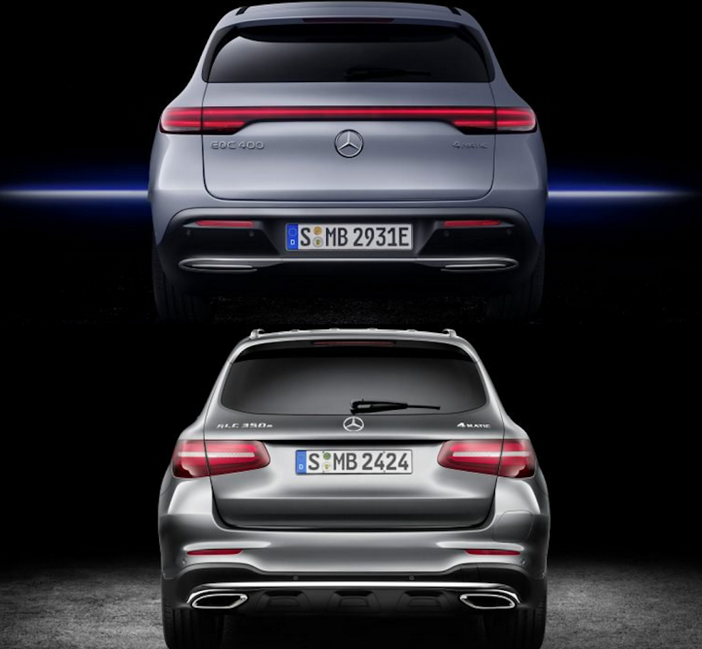 Mercedes EQC da dot pha hon GLC nhu the nao