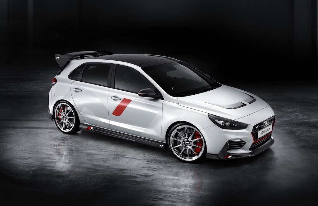 "Hatchback the thao Hyundai i30 N cuc ""chien"" voi option the thao"