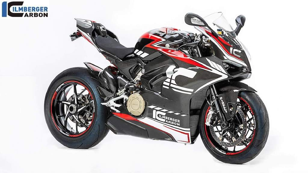 Ilmberger độ full vỏ carbon cho superbike Ducati Panigale V4