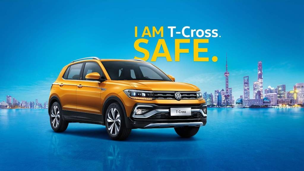 "Crossover hang B Volkswagen T-Cross chinh thuc ""trinh lang"""