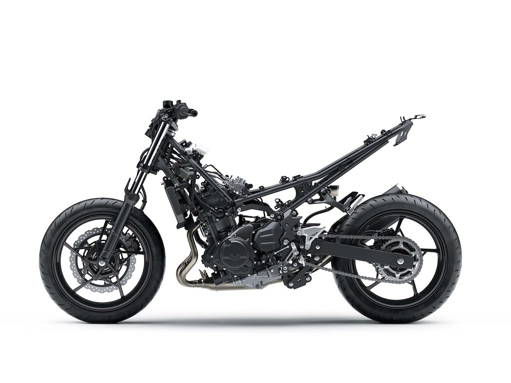 Naked bike Kawasaki Z400 ra mat thay the cho Z300 cu