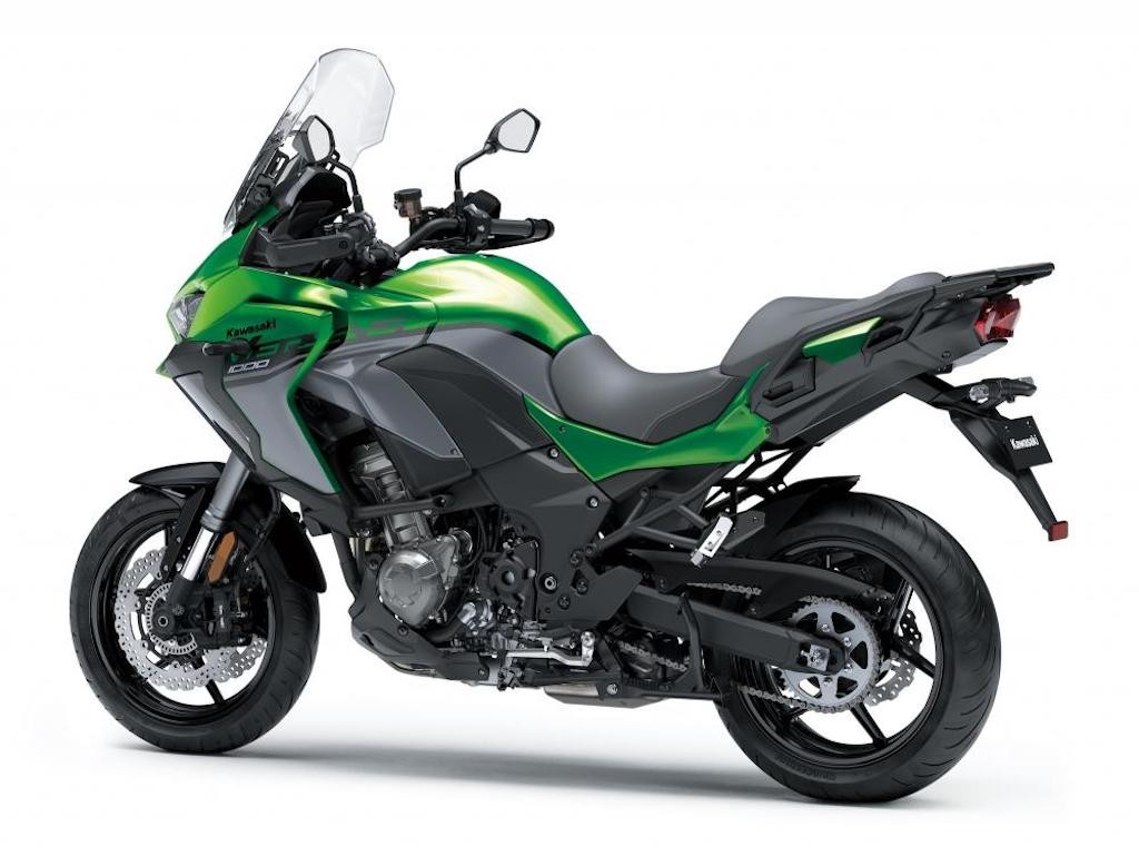 "Mo to sport adventure Kawasaki Versys 1000 the he moi ""trinh lang"""