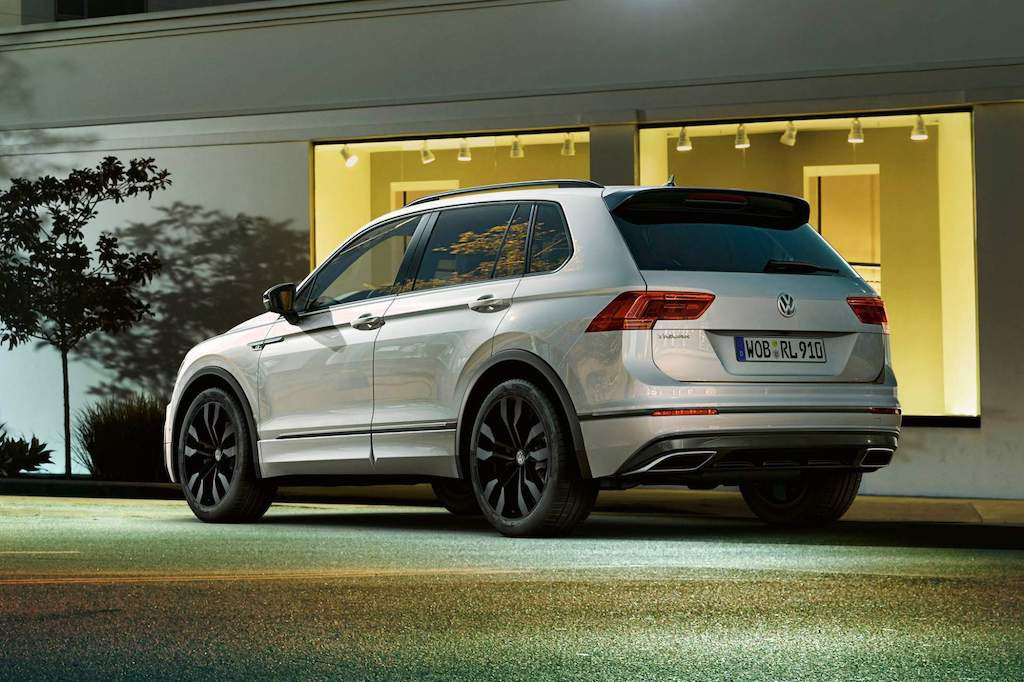 Volkswagen Tiguan them chat the thao voi phu kien Black Style R-Line