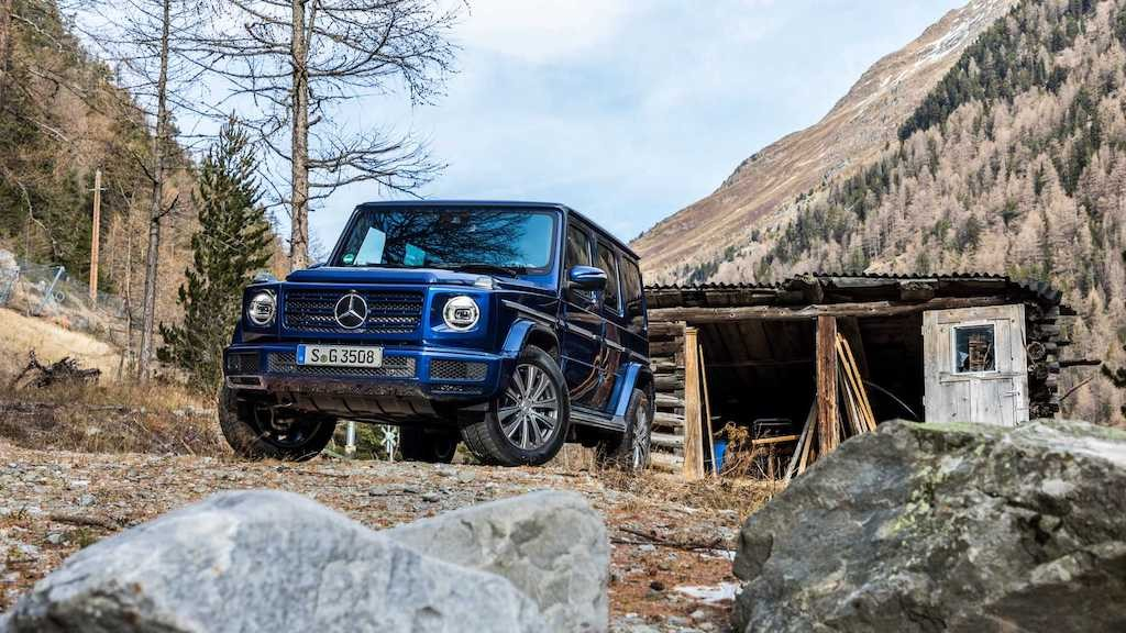 "Can canh Mercedes G-Class ""gia re"" dung dong co diesel"