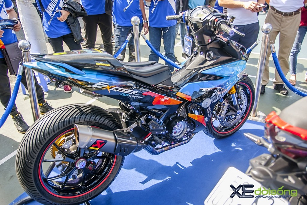 "Chan dung biker ""Nha vo dich"" Cuoc thi Yamaha Exciter do nam 2018"