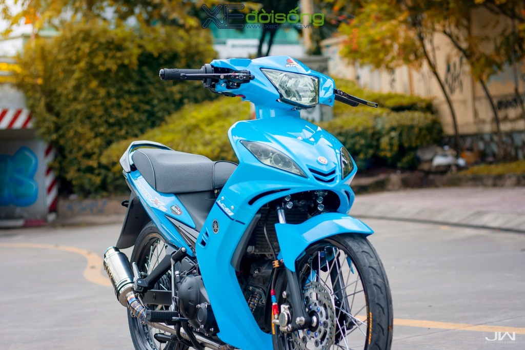 Yamaha Exciter 135 ban do Crypton theo phong cach Hy Lap