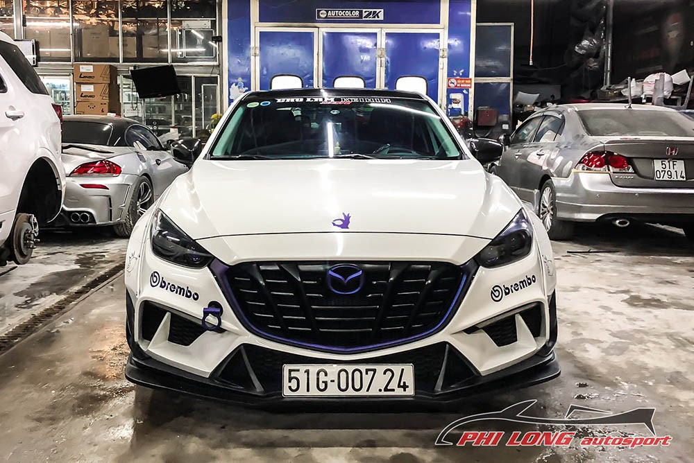 Mazda3 độ widebody