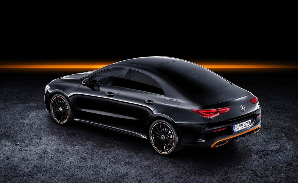Sedan coupe Mercedes-Benz CLA 2019 the he moi ra mat toan cau