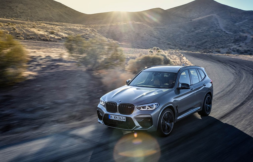 Ve dep BMW X3 M Competition 2020 uy luc nhu chang dung si
