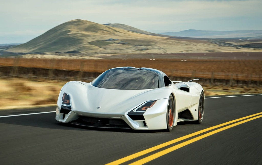 Xem hypercar Washington SSC Tuatara 2019