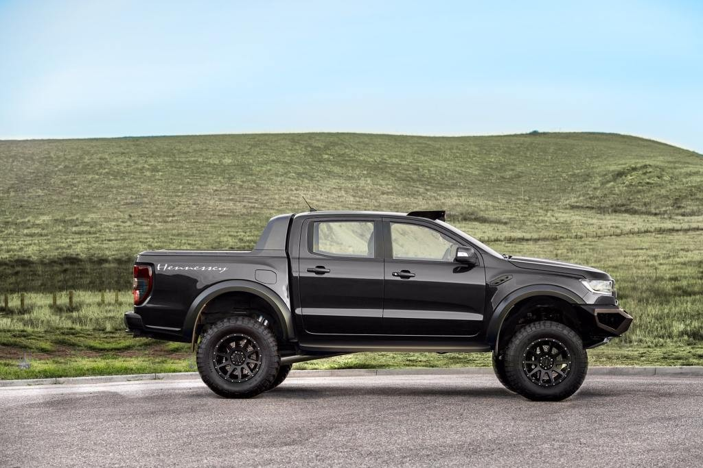 Hennessey tung ban do Ford Ranger VelociRaptor manh 350hp