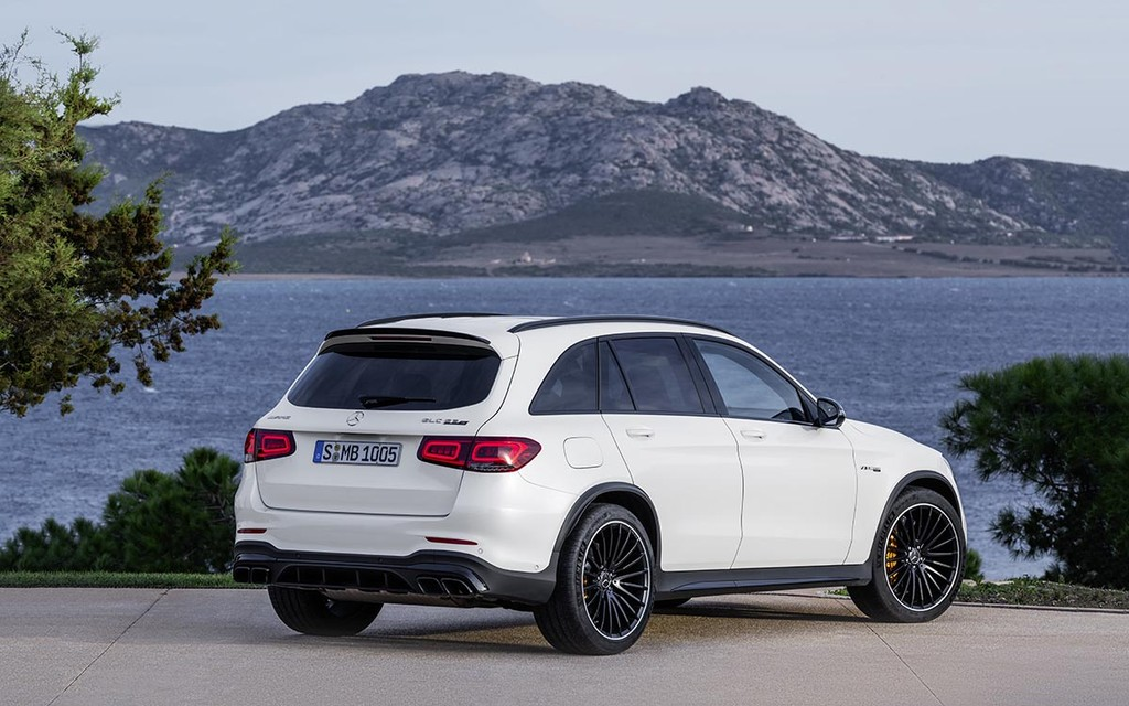 "Trinh lang Mercedes-AMG GLC 63 va GLC 63 Coupe 2020 ""facelift"""