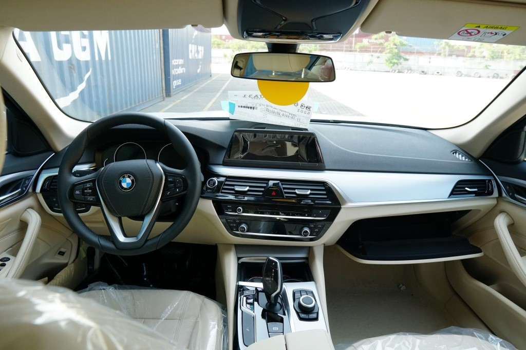 Lo xe BMW 5 Series G30 the he moi ve Viet Nam gom 2 phien ban