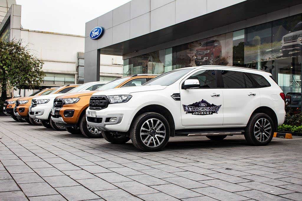 SUV 7 cho Ford Everest dat ky luc doanh so thang cao nhat lich su