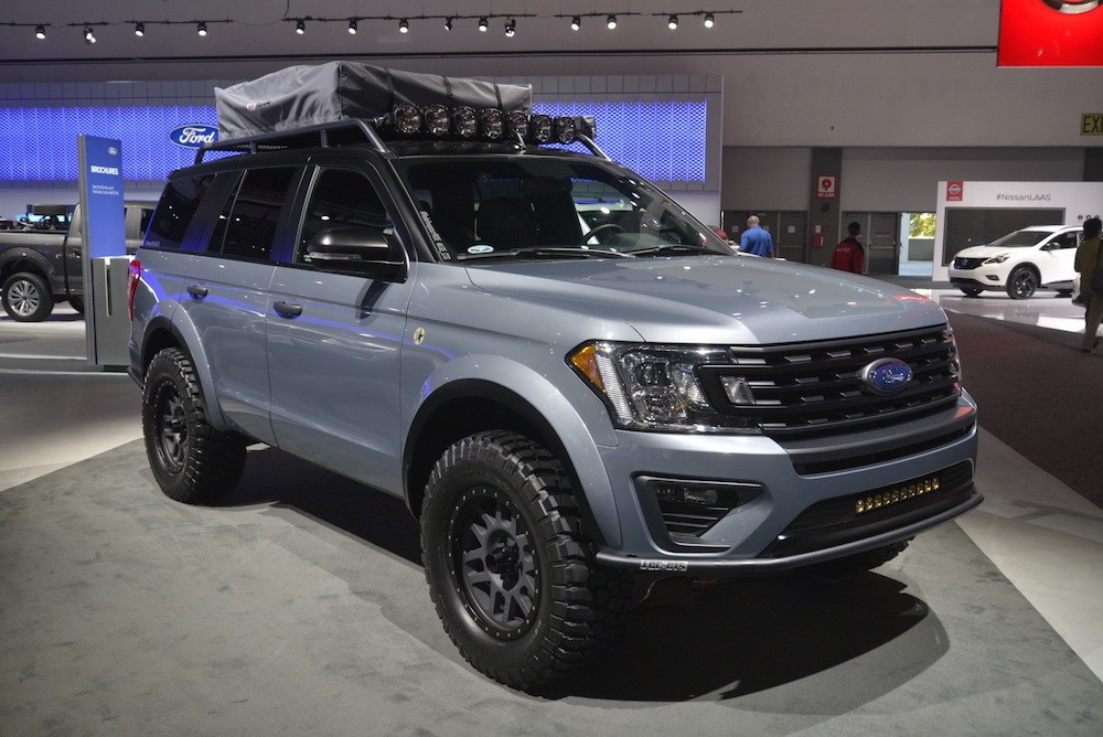 Soi SUV offroad cho gia đình Ford Expedition Baja-Forged Adventurer ảnh 2