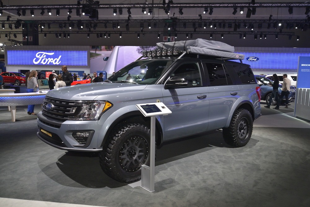 Soi SUV offroad cho gia đình Ford Expedition Baja-Forged Adventurer ảnh 5