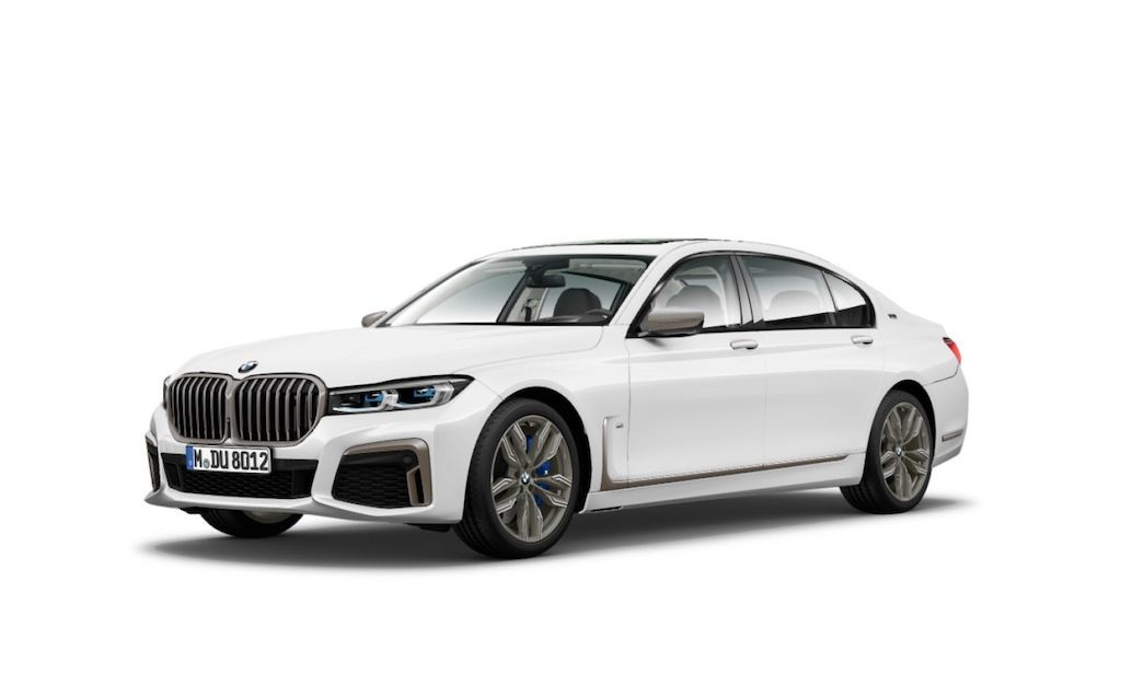 "Lo anh sedan dau bang BMW 7 Series 2020 ""hoc"" thiet ke BMW X7"