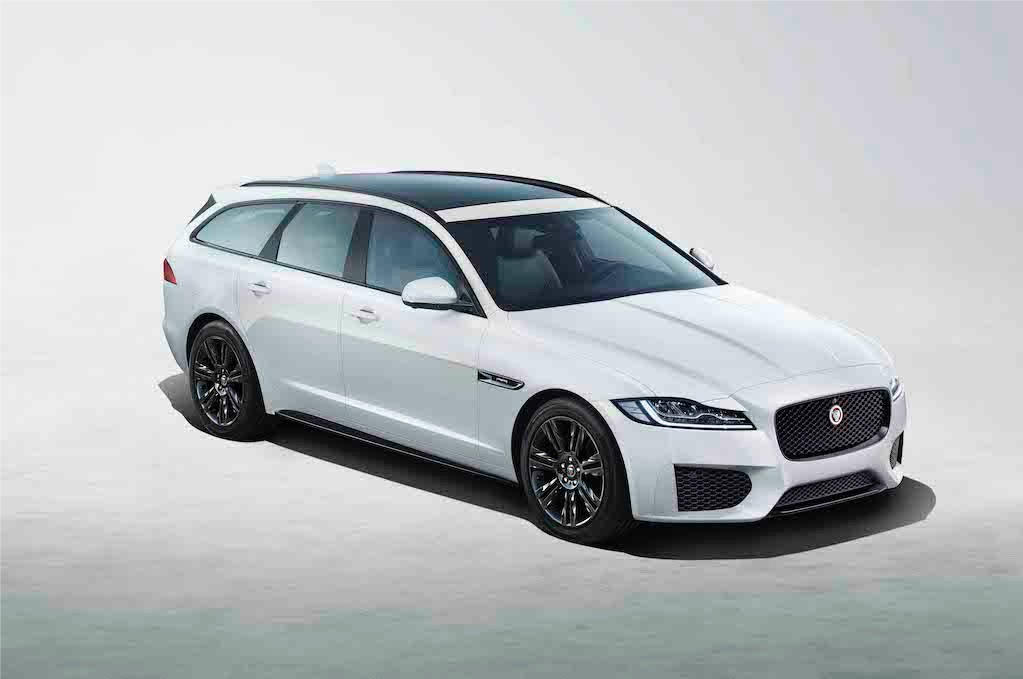 Xe hang sang Jaguar XF the thao hon voi ban dac biet Chequered Flag