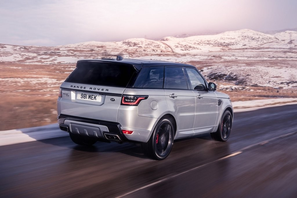 Chi tiet Range Rover Sport HST voi dong co hybrid hoan toan moi