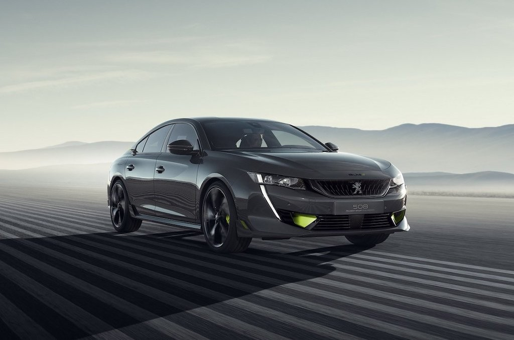 An tuong voi sedan the thao Peugeot 508 Sport Engineered toi tu Phap