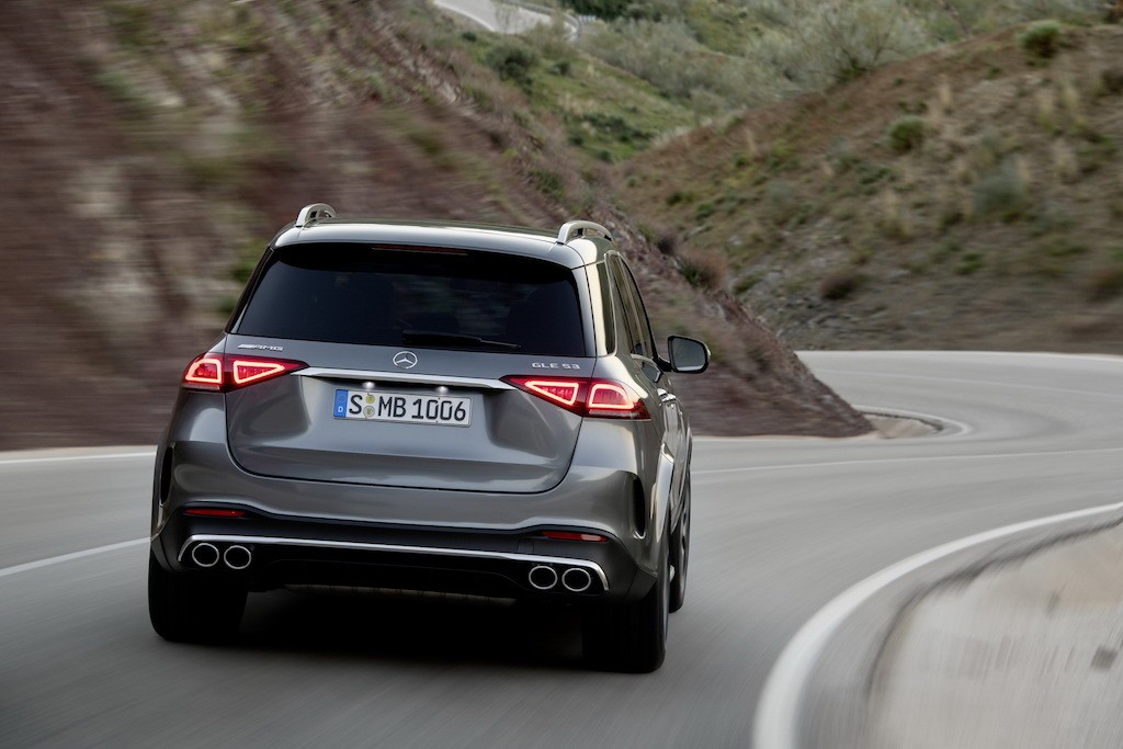 SUV the thao Mercedes-AMG GLE 53 4MATIC+ tro luc boi mo-to dien