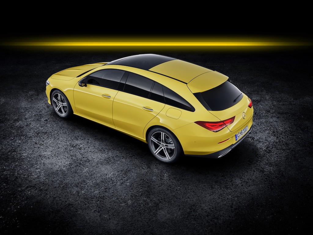 Ra mat Mercedes-Benz CLA Shooting Brake 2020 dang dep lai the thao